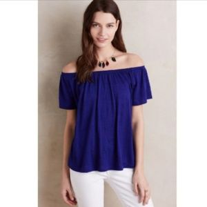 Anthropologie Edda Off-The-Shoulder Tee